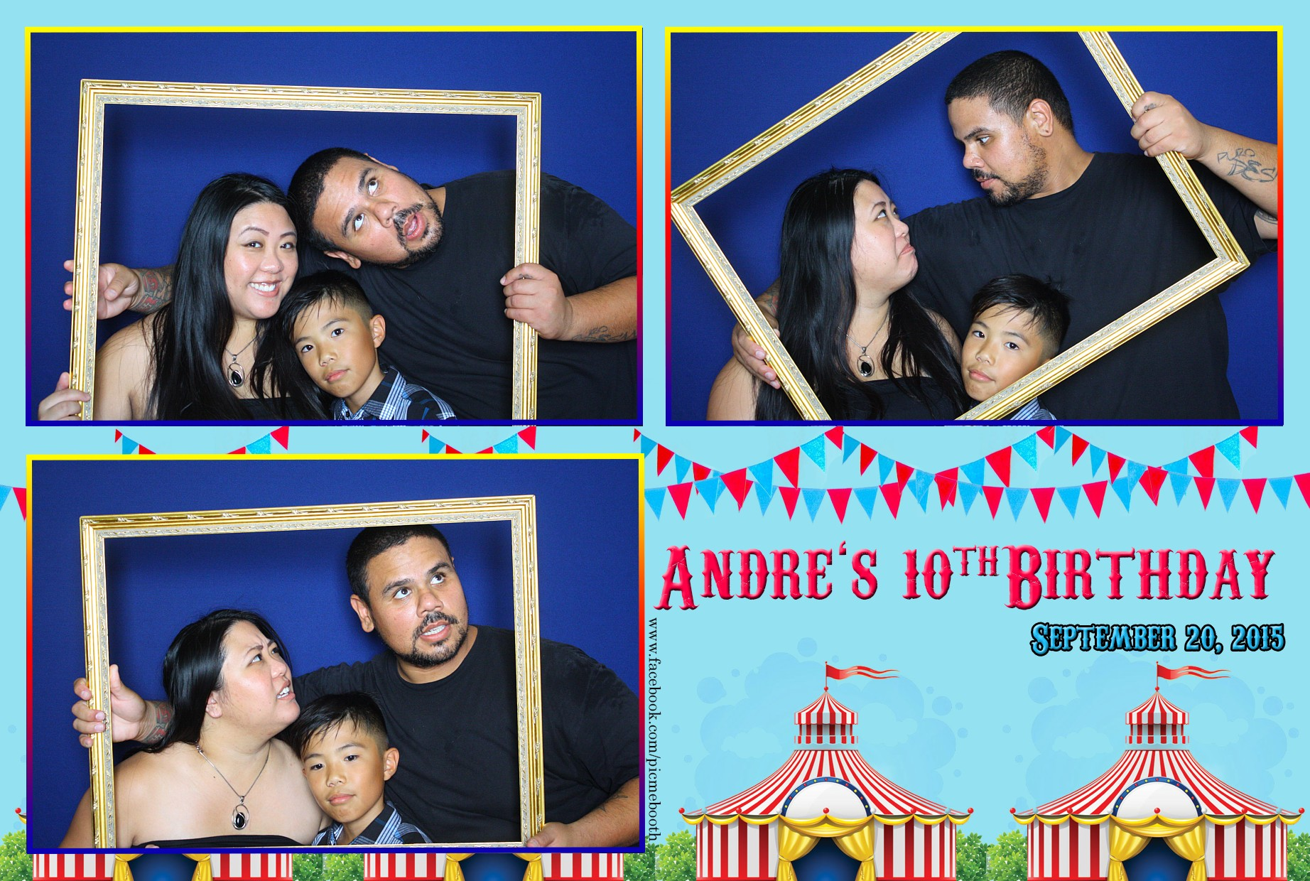 Andre's 10th Birthday