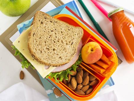 Lancheira saudável: volta às aulas!