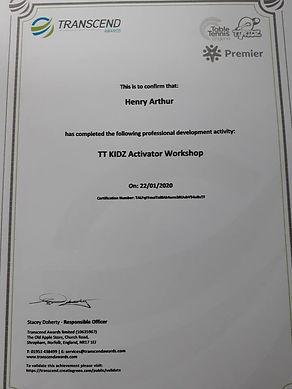TT Kidz activator certificate.jpg