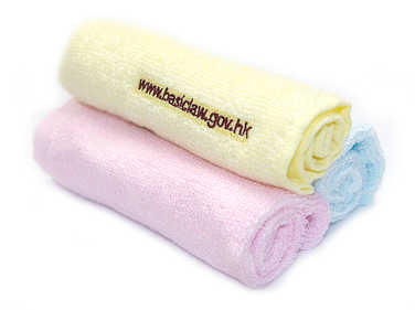 Bamboo Cotton Square Towel