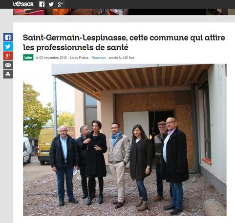 Dans la presse : Maison de Santé Saint Germain Lespinasse