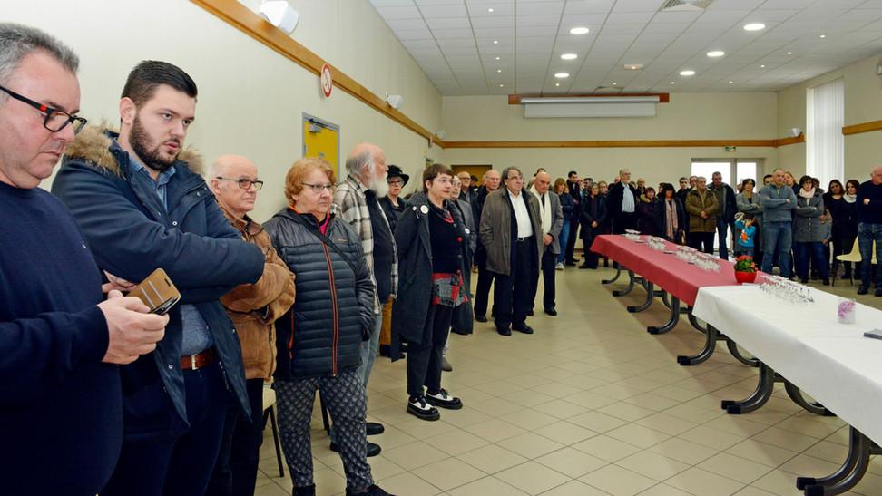 Saint Alban les Eaux, des vœux entre bilan et projets