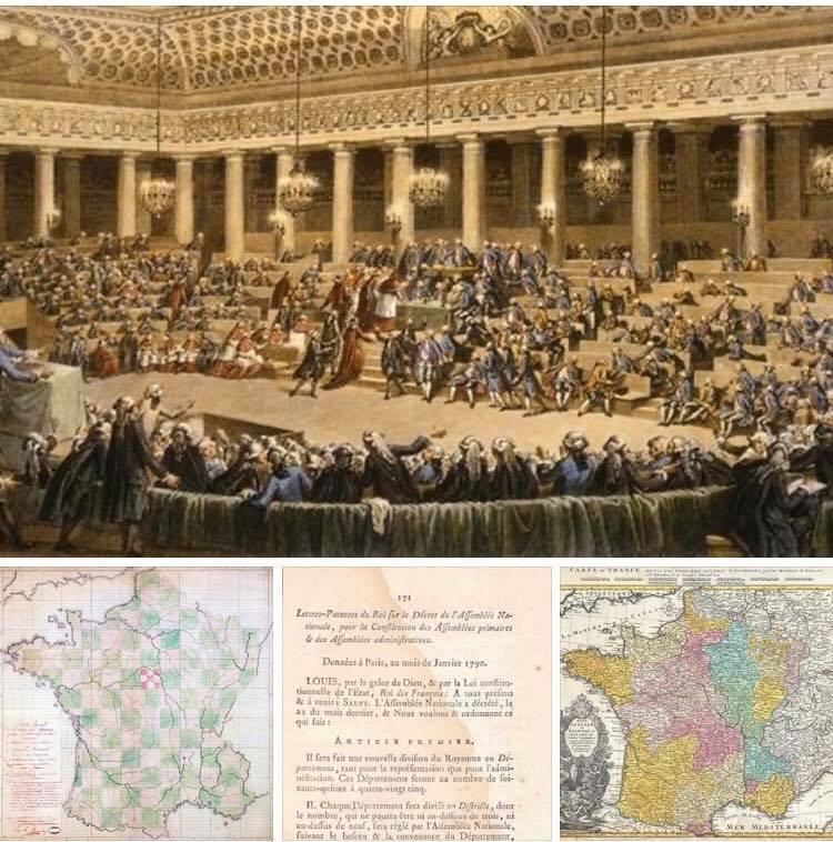 Il y a 230 ans, la Loire et le Rhône se mariaient en un seul département !