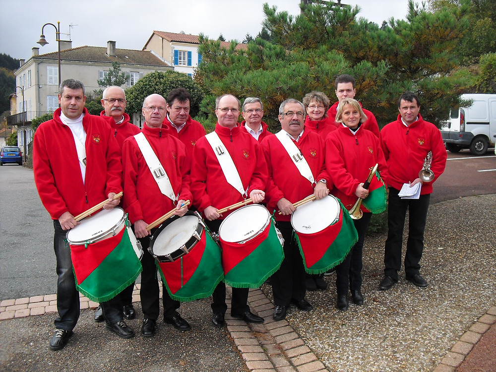 Fanfare de Saint-Alban-les-Eaux 11 novembre 2012