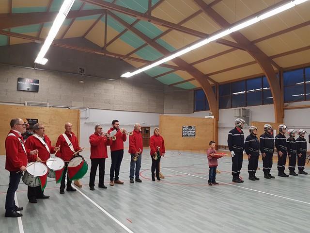 Les Pompiers de Saint Alban fêtent la Sainte Barbe