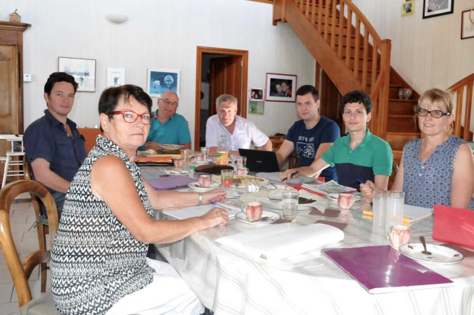 Michelle JONIER, Jean-Michel BRISSAY-CHÂTRE, Jean PICARLE, Patrice ESPINASSE, Antoine DEVEDEUX, Antoine VERMOREL, Huguette BURELIER