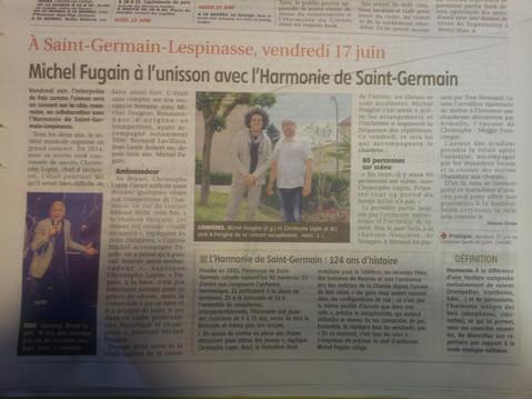 Saint Germain Lespinasse : c'est une belle histoire !