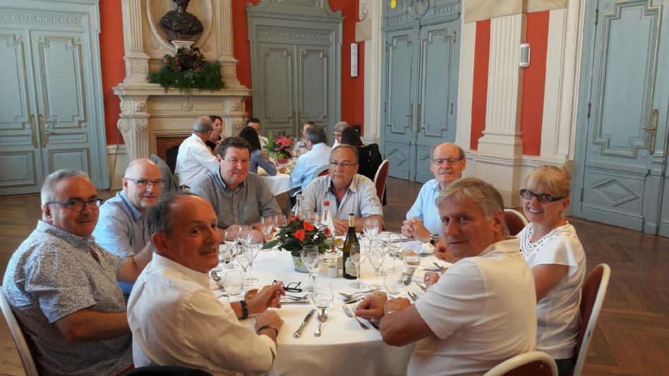 Pierre COISSARD, Pierre DEVEDEUX, Daniel FRECHET, Huguette BURELIER