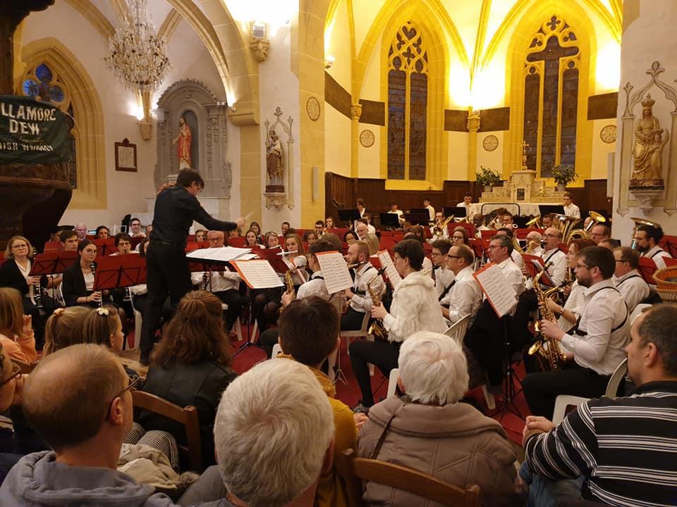 Saint-André-d'Apchon : une Sainte Cécile marquant une nouvelle année musicale