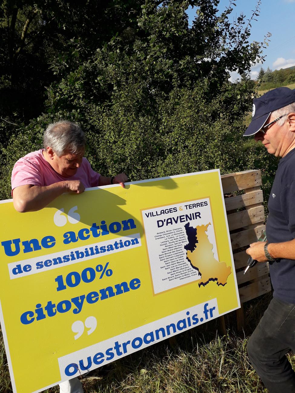 Succès pour la campagne estivale de prévention contre la pollution routière