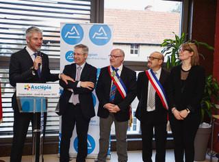 Inauguration de la Maison de Santé Pluri professionnelle « Asclépia »