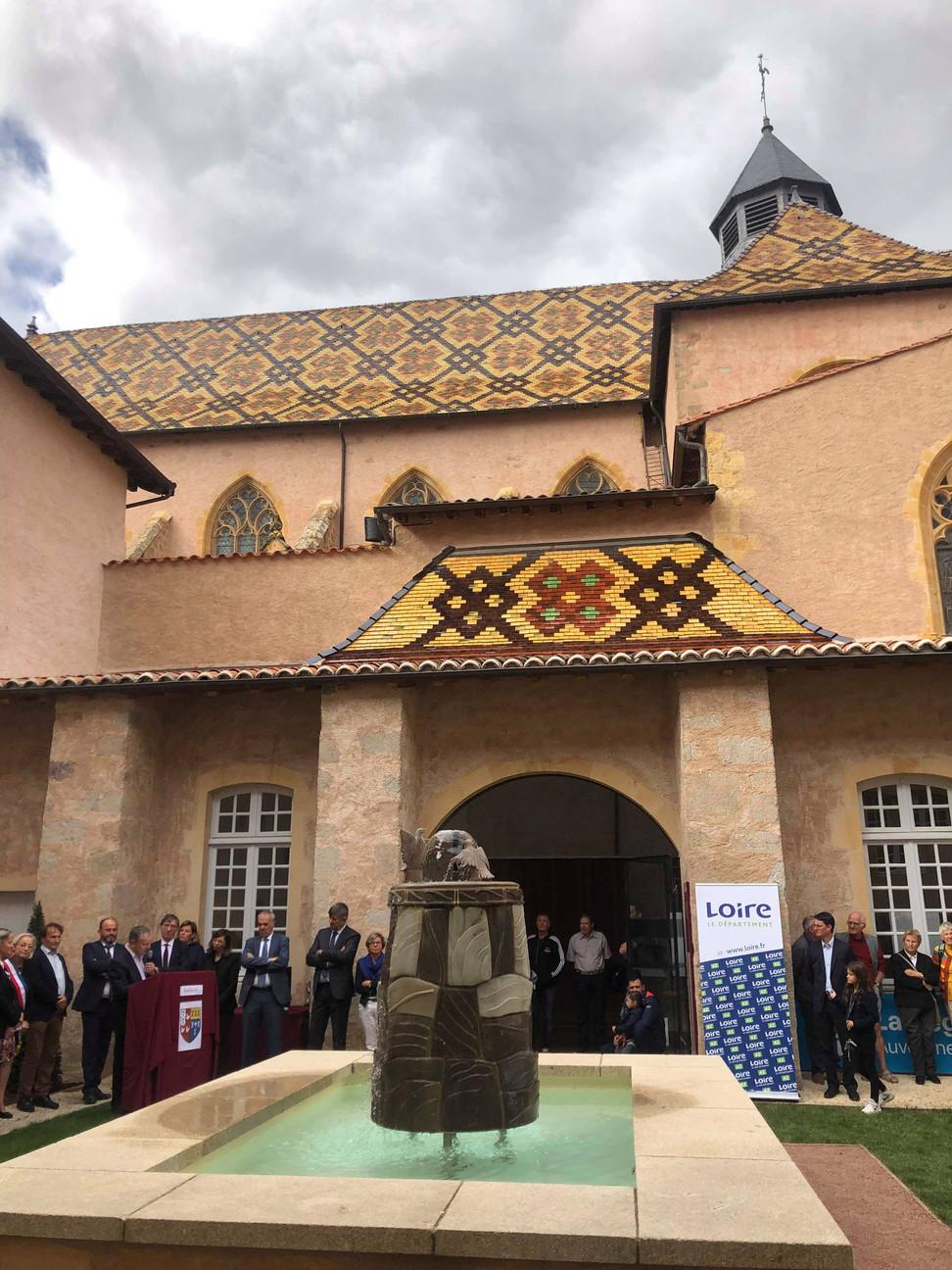 Histoire : retour sur les 50 ans d'efforts collectifs pour valoriser le patrimoine d'Ambierle