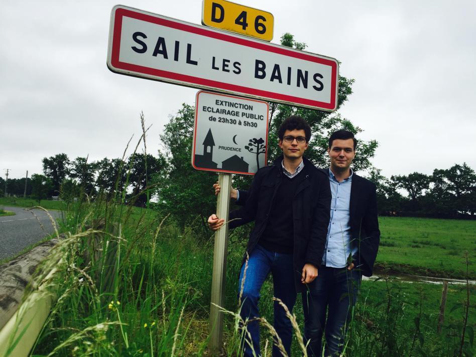 Antoine DEVEDEUX et Antoine VERMOREL à Sail les Bains