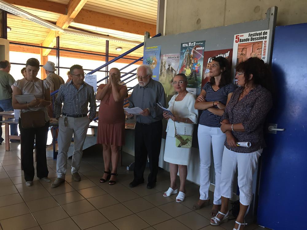 Yves NICOLIN, Raymonde BRETTE, Sandra SLEPCEVIC, Véronique CHAVEROT