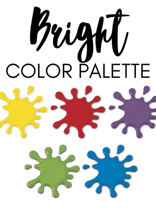 Bright Color Pallet