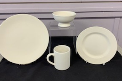 4 of a kind! Small, Medium and large mugs, bowls, or plates