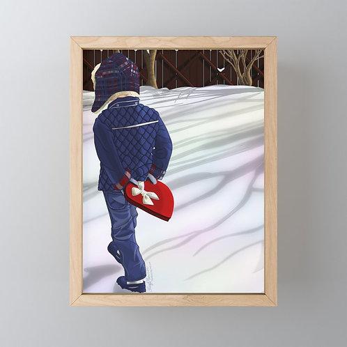 You Keep My Heart Warm Framed Mini-Art Print