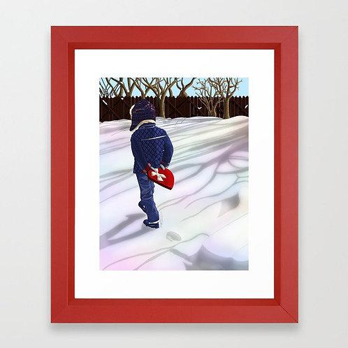 You Keep My Heart Warm Framed Art Print