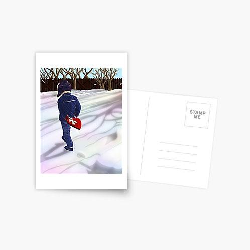 You Keep My Heart Warm Postcard