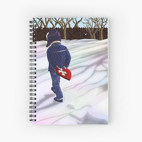 You Keep My Heart Warm Spiral Journal
