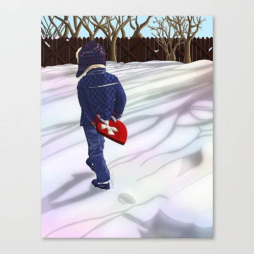 You Keep My Heart Warm Canvas Print