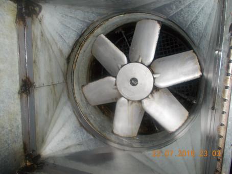 Fan Cleaning - Fire Prevention