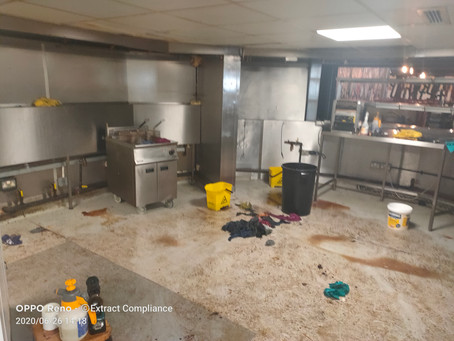 Kitchen Deep Cleaning Services