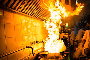 kitchen fire - extract compliance