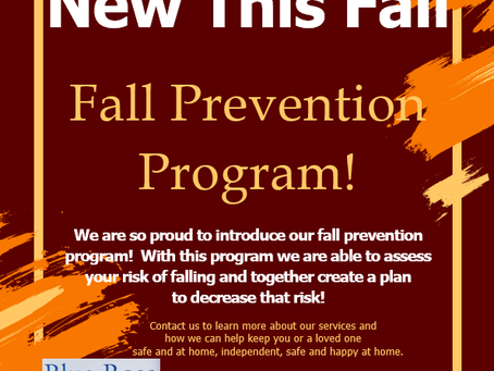 New Program This Fall!