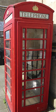Traditional British Phone Box in Bath, Bath Insider Tours, private tours with a local