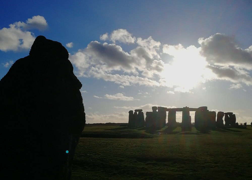 Mysterious light seen at the Heel Stone during a tour of Stonehenge by Bath Insider Tours