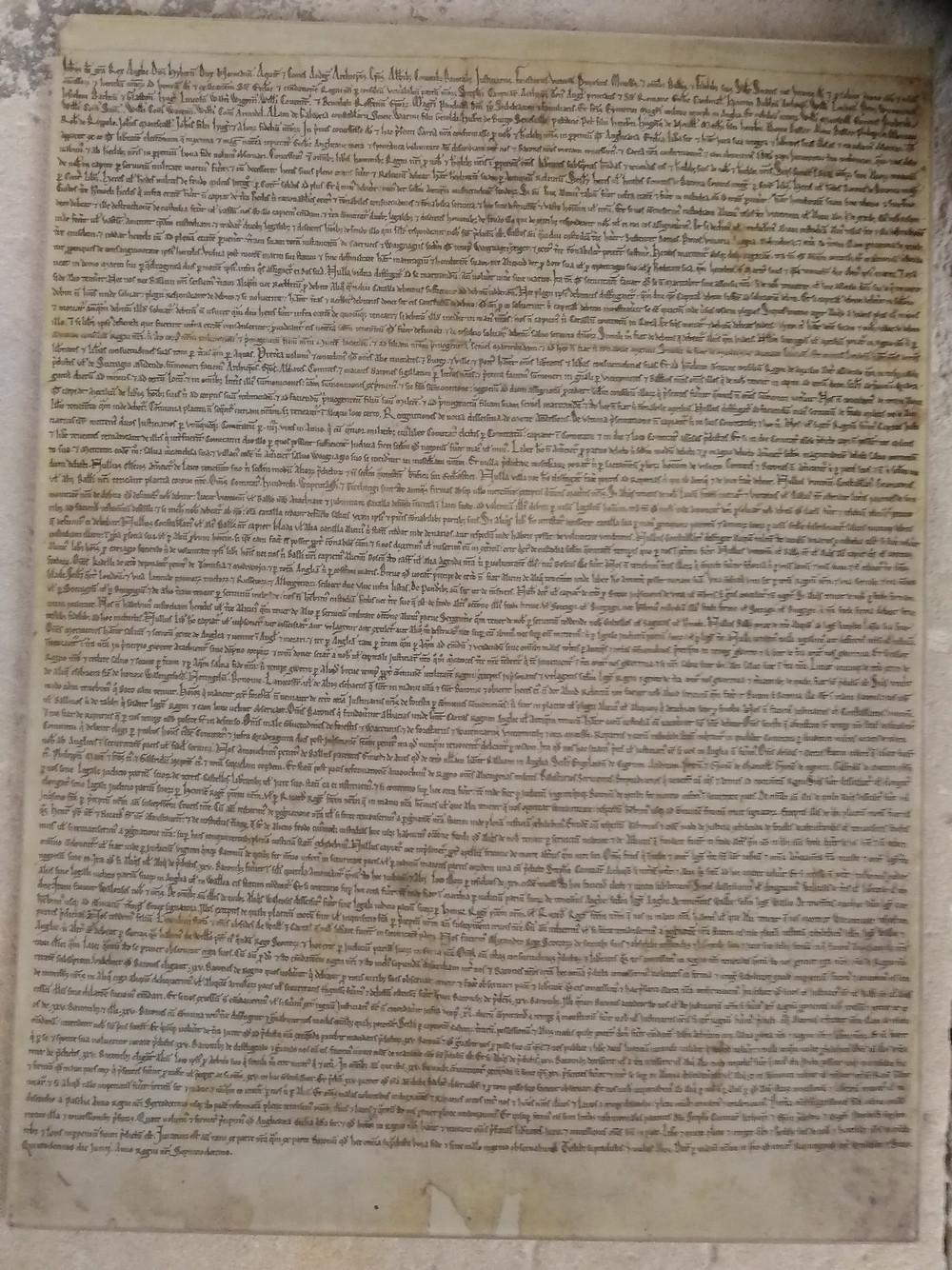 Salisbury Magna Carta by Bath Insider Tours