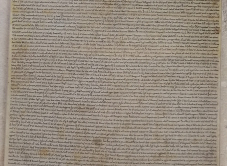 Magna Carta back on display