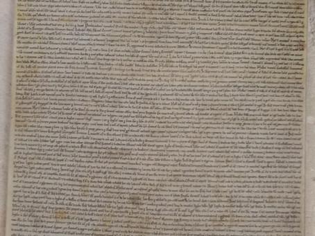 Magna Carta back on display