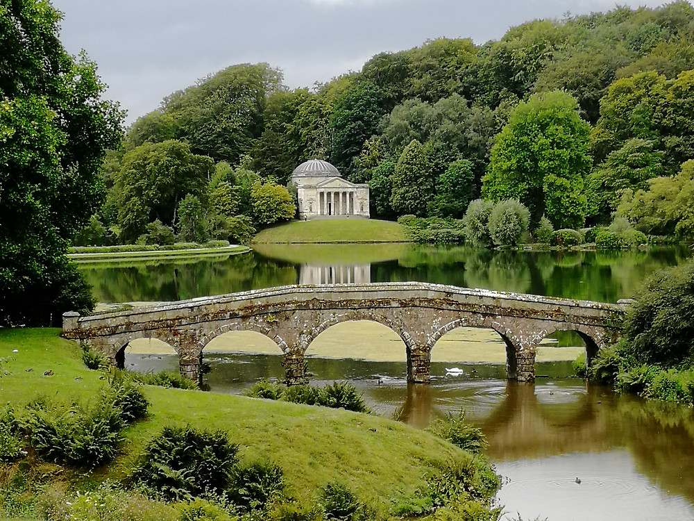 The beautiful landscaped gardens of Stourhead are open (tickets only). The house remains closed