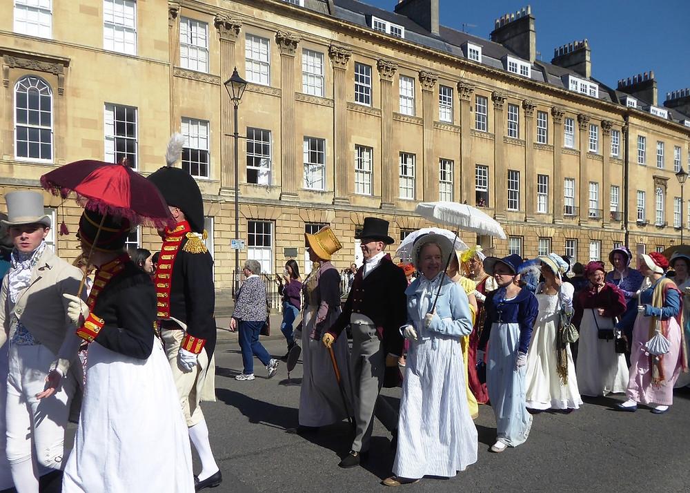 Jane Austen festival in Bath by Bath Insider Tours