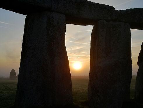 Stonehenge inner circle tour from Bath - sunrise at Stonehenge