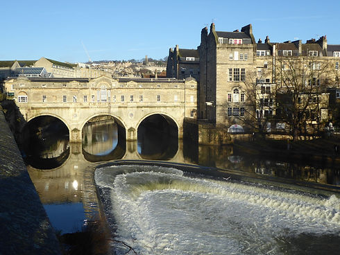 Pulteney Bridge in Bath - visited during my Bath and Stonehenge tour