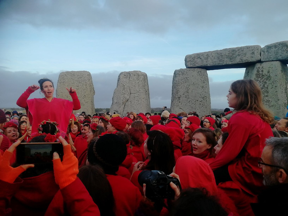 Stonehenge Winter Solstice by Bath Insider Tours