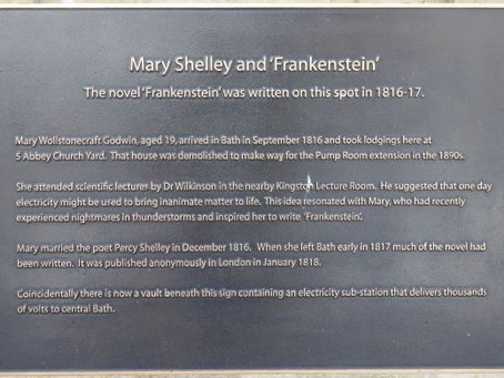 New Bath Attraction: Mary Shelley's House of Frankenstein