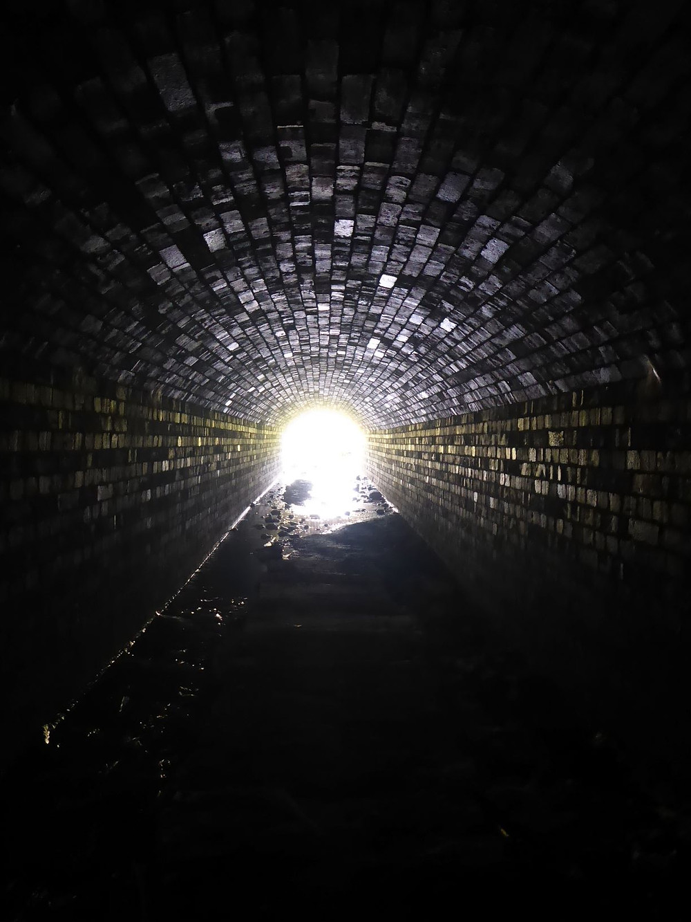 Light at the end of the tunnel by Bath Insider Tours