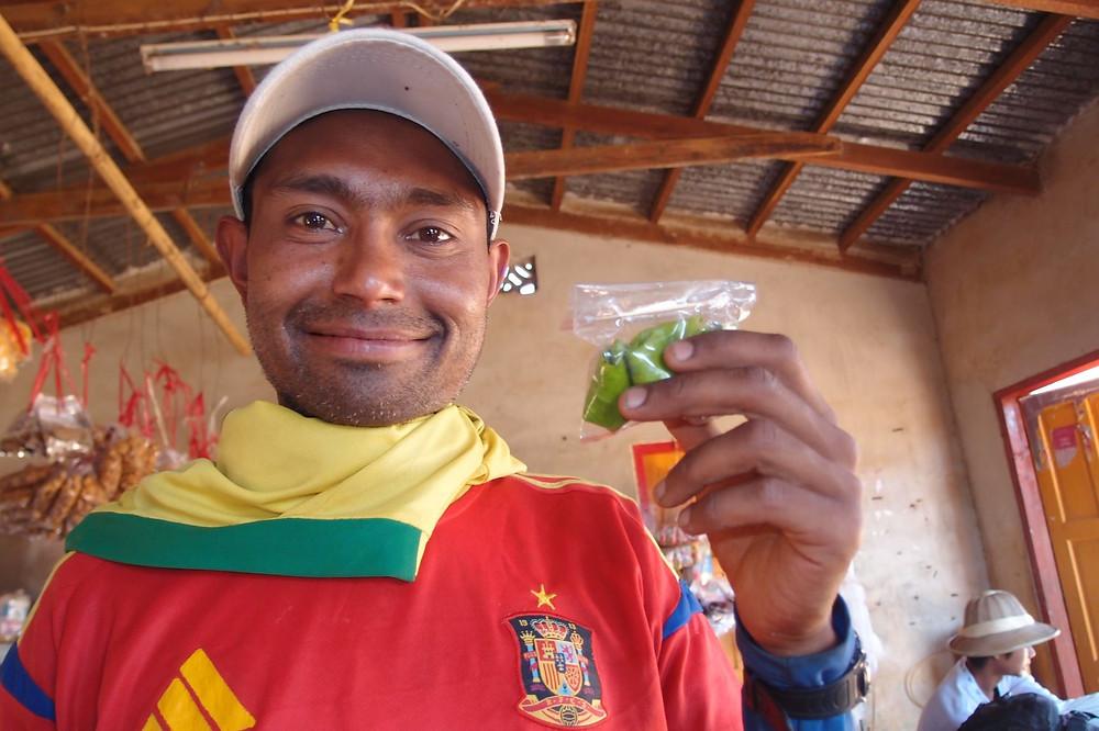 Myanmar guide wearing football top