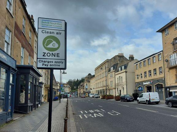 Bath has introduced a Clean Air Zone