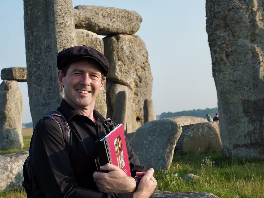 Daniel, your private guide at Stonehenge
