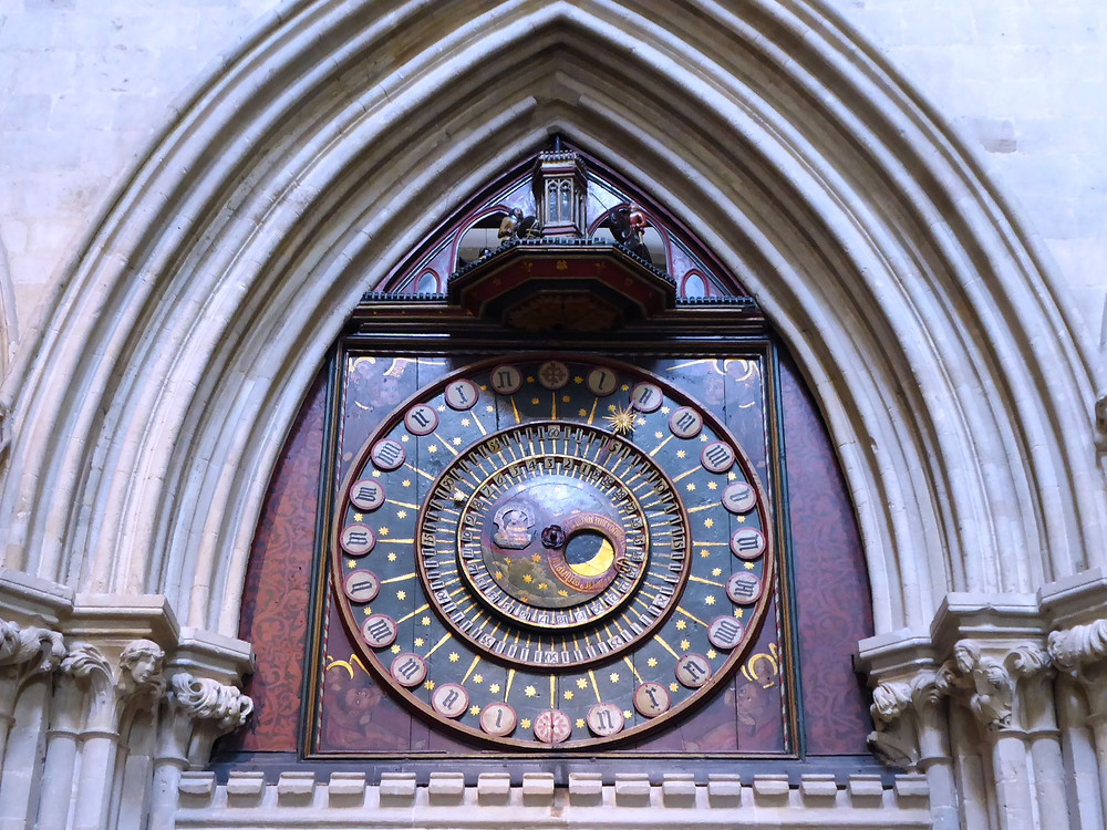 Wells cathedral clock by Bath Insider Tours