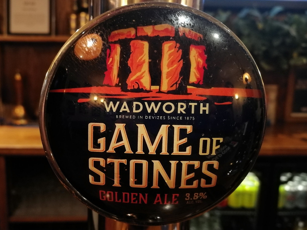 Game of Stones - a summer golden ale