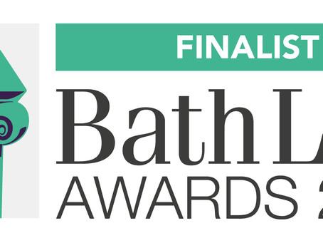 Bath Life Awards 2021 Finalist!