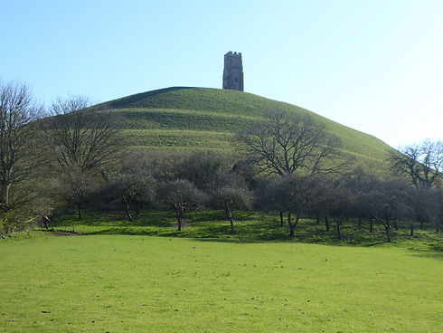 Glastonbury Tor which is visited on my Glastonbury tour from Bath