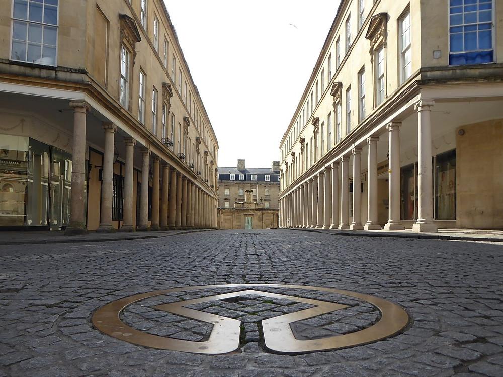 Bath UNESCO World Heritage Symbol