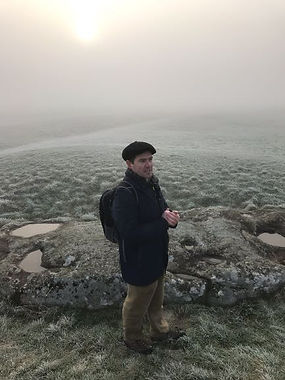 Stonehenge tour on a frosty morning
